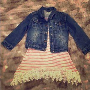 Baby Gap Girl's denim jacket Sz 5 years
